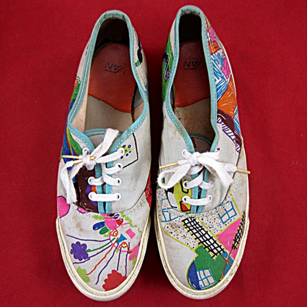 Vans Authentic Custom Vintage Spotlig...