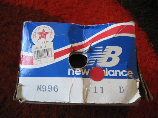 New Balance M996 1996-06