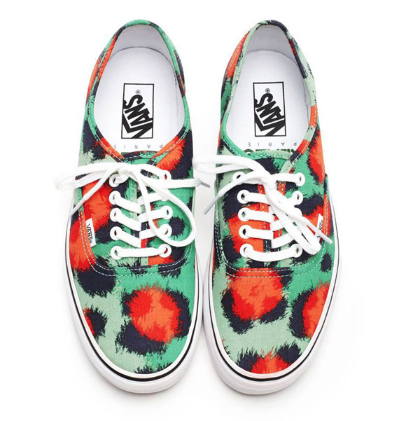 Kenzo X Vans Authentic & Slip On 'Clouded Leopard