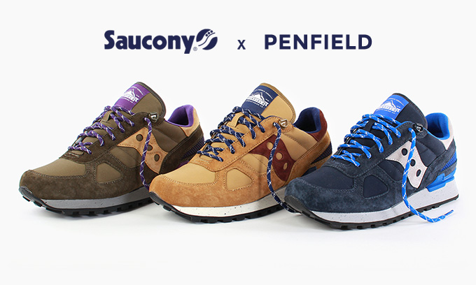 Penfield X Saucony Shadow \u002760/40\u0027 - Sneakers Magazine