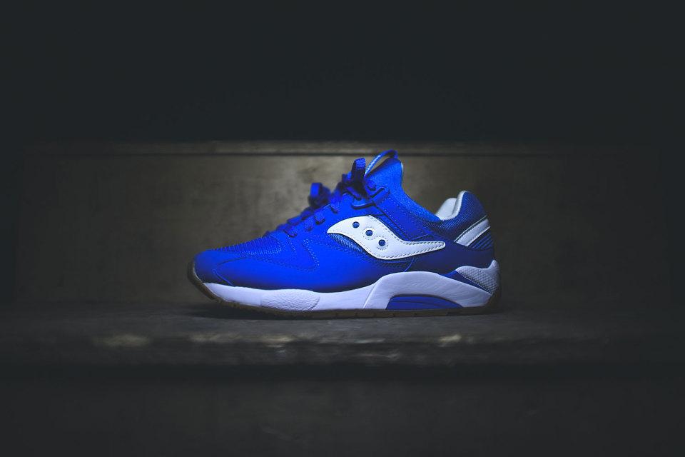 saucony grid 9000 blue