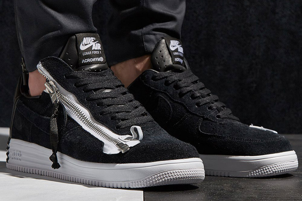 A First Look at the ACRONYM x NikeLab Lunar Force 1 SP