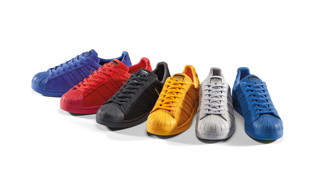 adidas superstar nere scamosciate