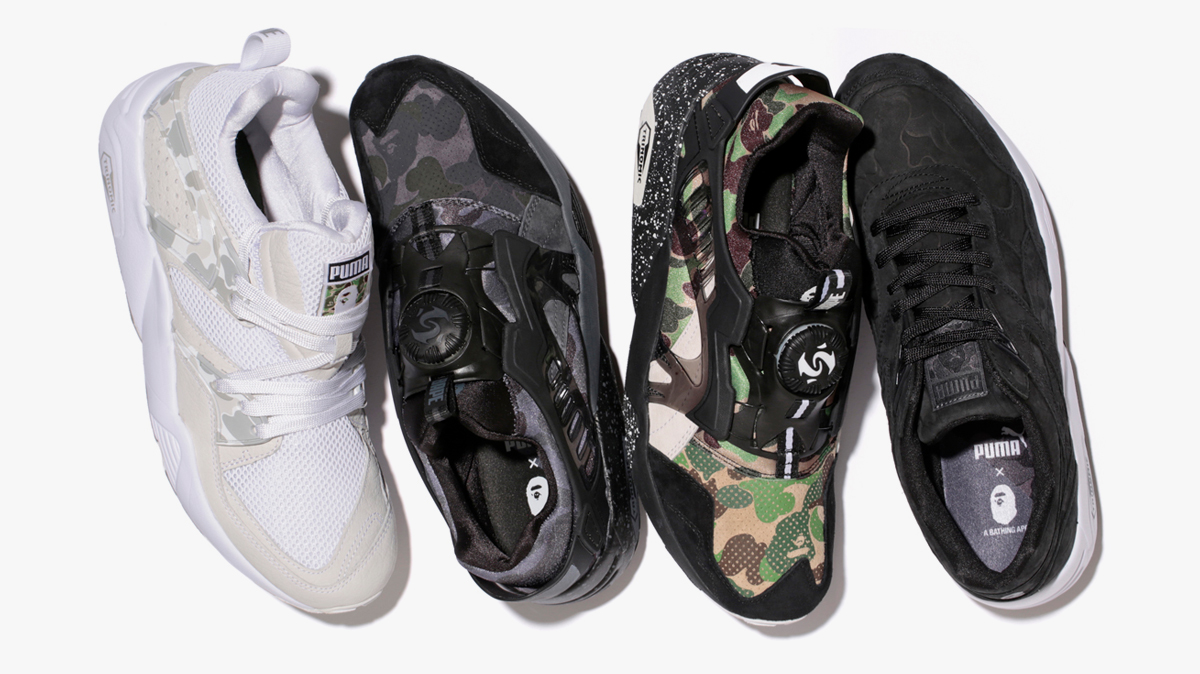 BAPE x Puma Capsule Collection Sneakers Magazine