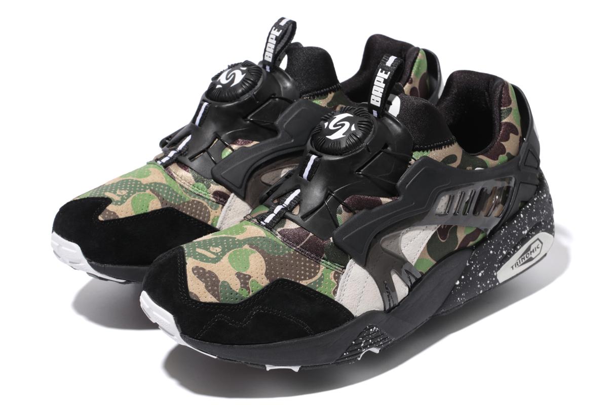 Puma Bape Collection Sneakers Capsule Magazine X ZqqU5a