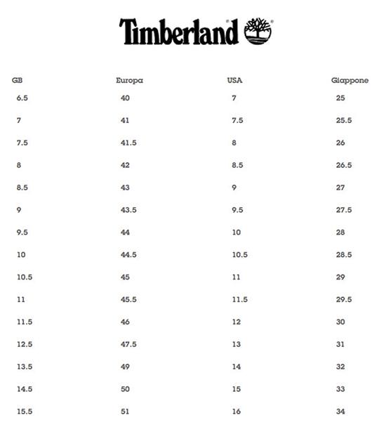 tabelle taglie-Timberland2