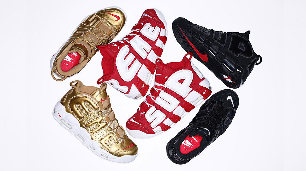 SUPREME X NIKE AIR MORE UPTEMPO - Sneakers Magazine