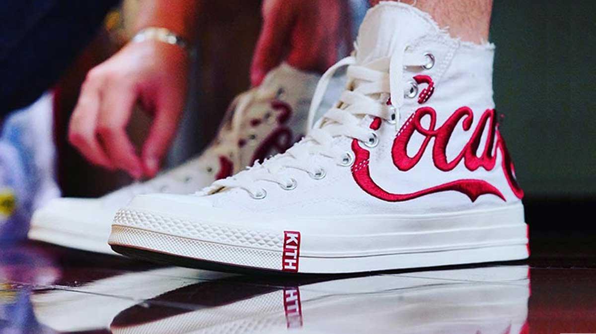 converse chuck taylor all star 70s hi kith x coca cola