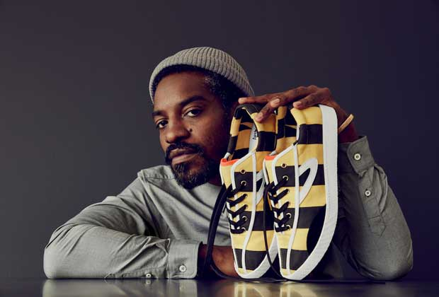 André 3000 Benjamin x Tretorn Collection