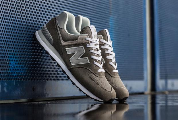 New Balance celebra l'iconico modello 574 e il colore grigio