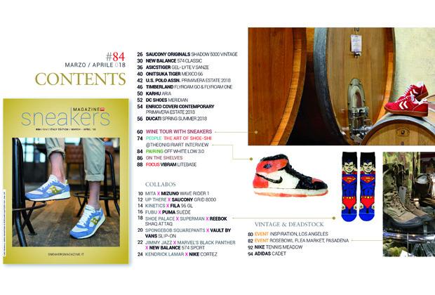 Sneakers magazine 84