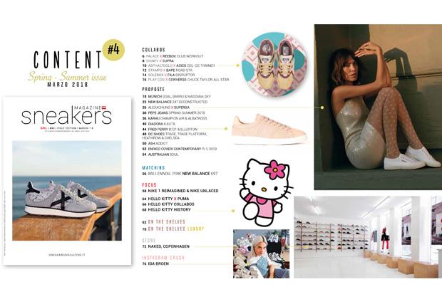 Sneakers magazine girl power