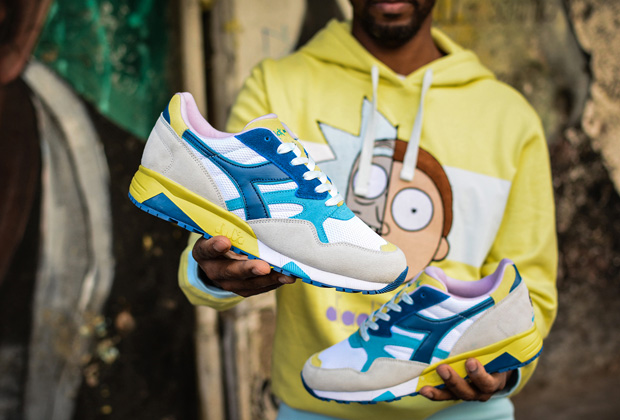 Diadora x Rick and Morty: an exclusive capsule collection is