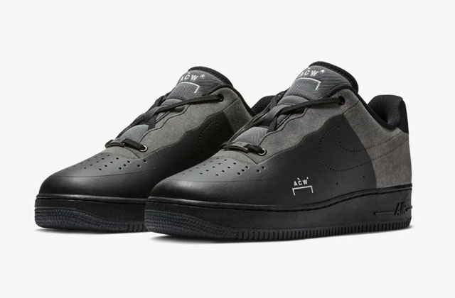 X A Cold Wall* Air Force 1 BlackWhite Dark Grey   Sneakers