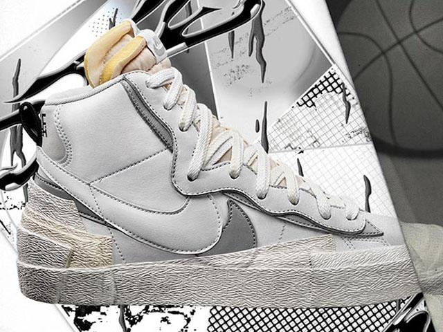 Nike x sacai Blazers