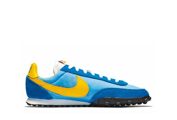 NIKE WAFFLE RACER UNIVERSITY BLUE BATTLE BLU BLACK AMARILLO 1977 (2019 REMAKE)