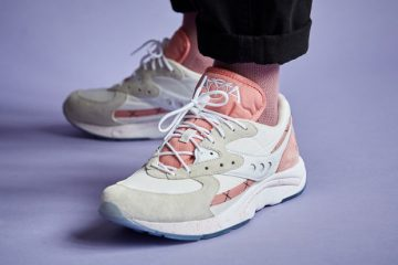 saucony aya peaches and cream