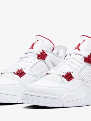 Air Jordan 4 Red Metallic