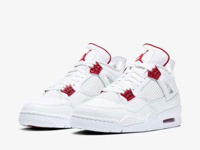 Air Jordan 4 Red Metallic