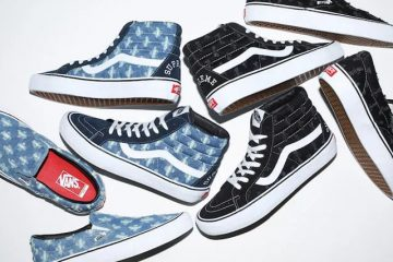 Supreme x Vans Distressed Denim Pack