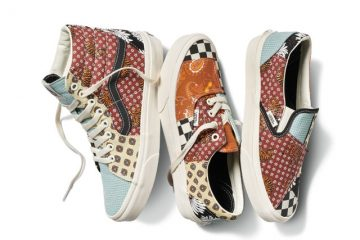 Vans tiger patchwork collection