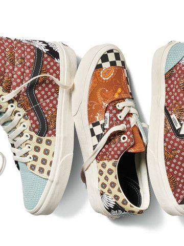 Vans tiger patchwork collection