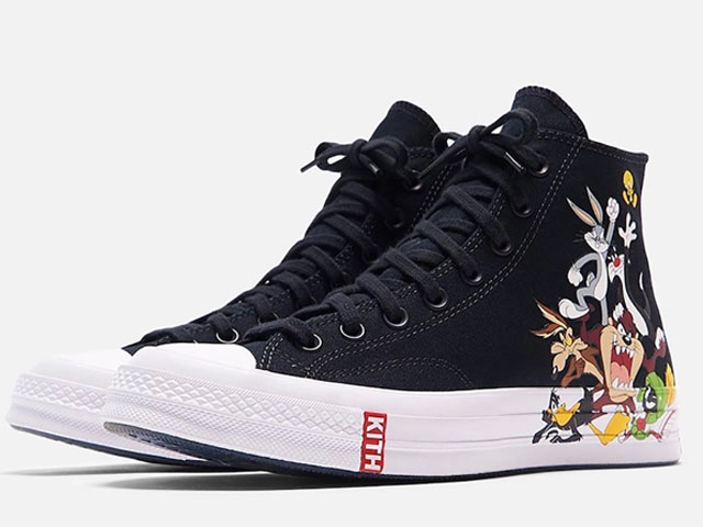 KITH x Looney Tunes x Converse Chuck '70 Collection