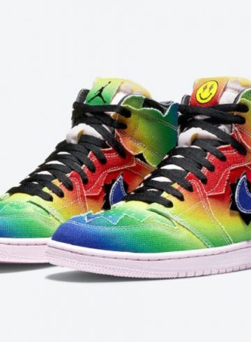 j balvin x air jordan 1 high