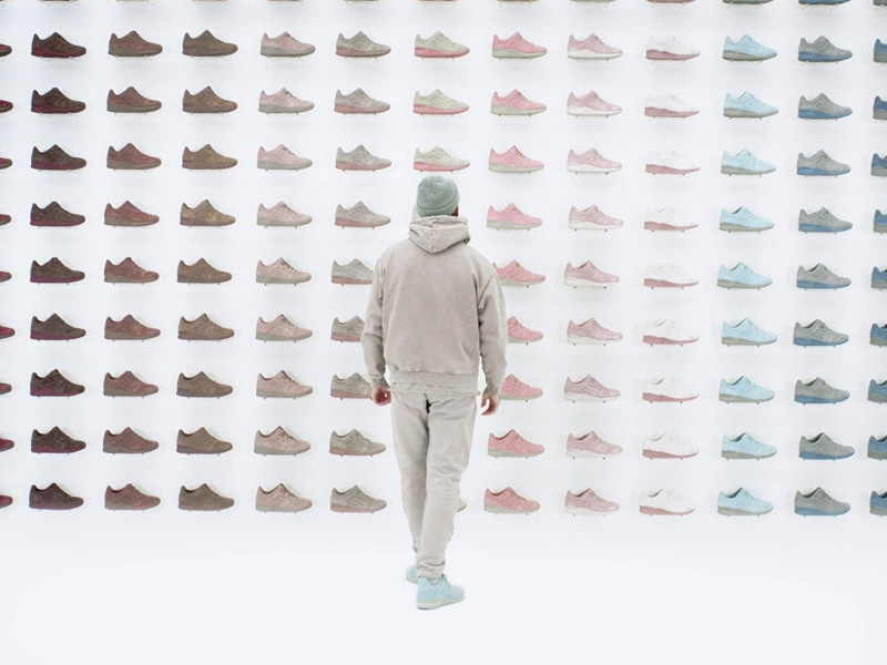 ronnie fieg x asics the palette collection