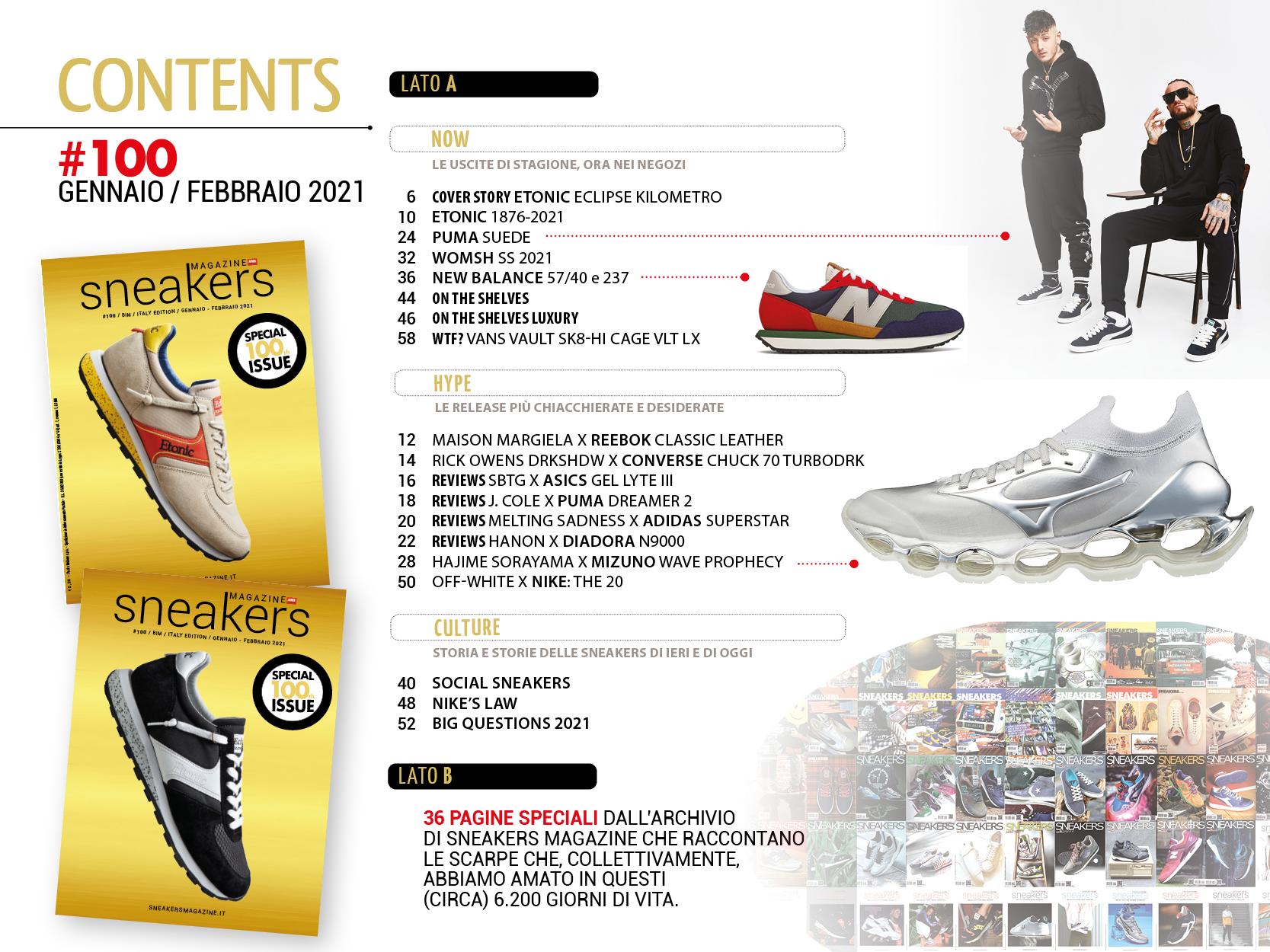 sneakers magazine numero 100