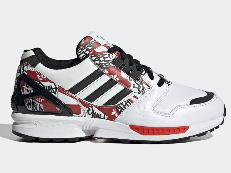 atmos x adidas zx 8000 graffiti